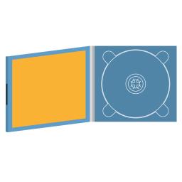 Digipack CD 4 полосы 1 трей с буклетом (вклеенным) на магните