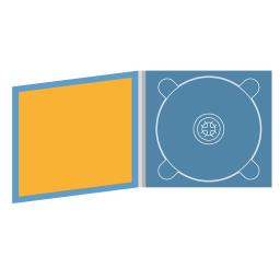 Digipack CD 4 полосы 1 трей с буклетом (вклеенным)