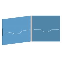 DigiFile CD 4 полосы 2 прорези на магните