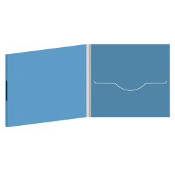 DigiFile CD 4 полосы 1 прорезь на магните