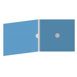 DigiFix CD 4 полосы 1 спайдер с рукавом для буклета и вырезом под палец (внутренний)