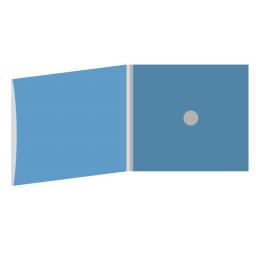 DigiFix CD 4 полосы 1 спайдер с рукавом для буклета