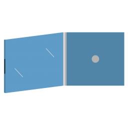 DigiFix CD 4 полосы 1 спайдер с вырезом под визитку на магните