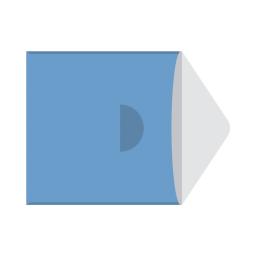 Картонный Конверт с треугольным клапаном