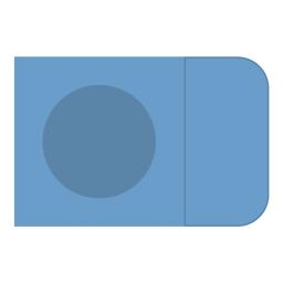 Картонный Конверт с окном с клапаном