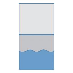 Картонный Конверт (волна) с большим клапаном