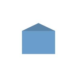 Картонный Конверт Card с треугольным клапаном