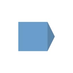 Картонный Конверт Mini с треугольным клапаном
