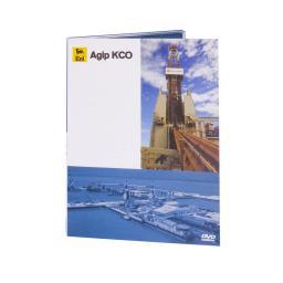 Диджипак DVD 4 полосы 1 трей. Agip KCO