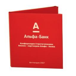 Диджифайл CD 6 полос 1 карман. Альфа Банк