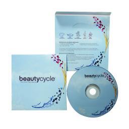 Картонный конверт без клапана (карман). Beautycycle