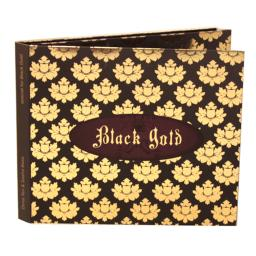 Диджипак CD 6 полос 2 спайдера. Black Gold