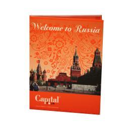 Диджипак DVD 4 полосы 1 трей.  Capital tour - Welcom to Russia
