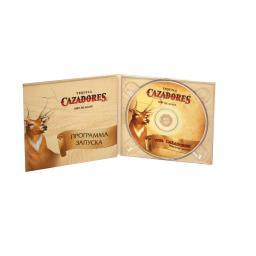 Диджипак CD 6 полос 2 трея. Сazadores
