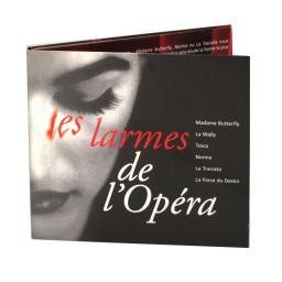 Диджипак CD 8 полос 1 трей. de l opera