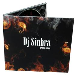 Диджипак CD 4 полосы 2 трея. DJ Sinhra