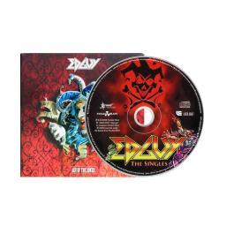 Диджипак CD 8 полос 2 трея с прорезью для буклета. EDGUY