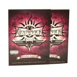 Диджипак CD 6 полос 1 трей. Godsmack
