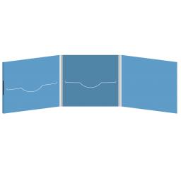 DigiFile CD 6 полос 2 прорези (центр / слева) на магните