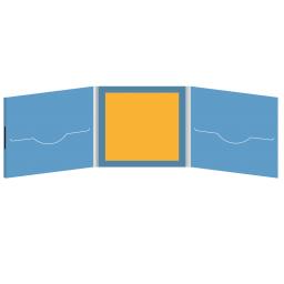 DigiFile CD 6 полос 2 прорези с буклетом (вклеенным, в центре) на магните