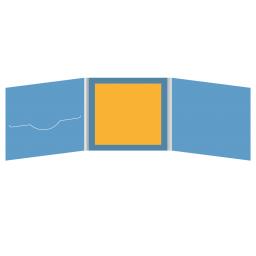 DigiFile CD 6 полос 1 прорезь (слева) с буклетом (вклеенным) (в центре)