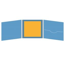DigiFile CD 6 полос 1 прорезь (справа) с буклетом (вклеенным) (в центре)