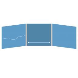 DigiFile CD 6 полос 1 прорезь (слева) с прорезью для буклета (в центре)