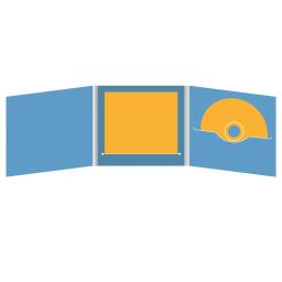 DigiFile CD 6 полос 1 прорезь (справа) с прорезью для буклета (в центре)