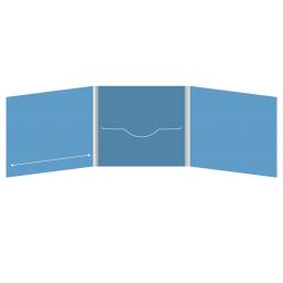 DigiFile CD 6 полос 1 прорезь (в центре) с прорезью для буклета (слева)