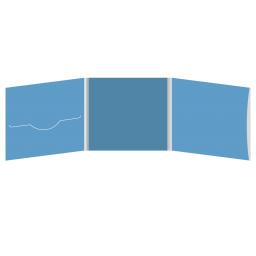 DigiFile CD 6 полос 1 прорезь (слева) с рукавом для буклета (справа)
