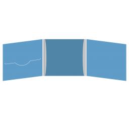 DigiFile CD 6 полос 1 прорезь (слева) с рукавом для буклета (в центре)