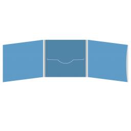 DigiFile CD 6 полос 1 прорезь (в центре) с карманом для буклета (справа)