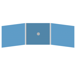 DigiFix CD 6 полос 1 спайдер (в центре)