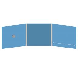 DigiFix CD 6 полос 1 спайдер (слева) с прорезью (справа)
