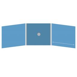 DigiFix CD 6 полос 1 спайдер (в центре) с прорезью (справа)