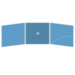 DigiFix CD 6 полос 1 спайдер (в центре) с карманом для буклета (справа)