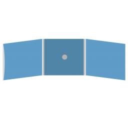 DigiFix CD 6 полос 1 спайдер (в центре) с рукавом для буклета (слева)