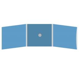 DigiFix CD 6 полос 1 спайдер (в центре) с рукавом для буклета (справа)
