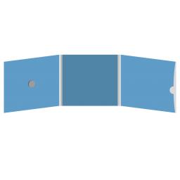 DigiFix CD 6 полос 1 спайдер (слева) с вырезом под визитку (справа)