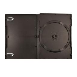 Amarey Box DVD черный (14mm) на 1 диск с высоким хабом