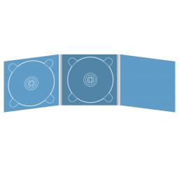 Digipack CD 6 полос 2 трея (слева / центр)