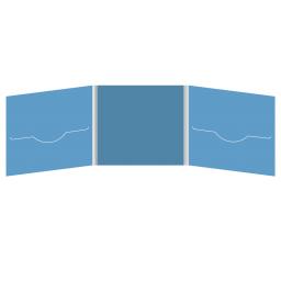 DigiFile CD 6 полос 2 прорези (слева + справа)