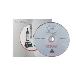 Диджифайл CD 4 полосы 1 прорезь. Camozzi