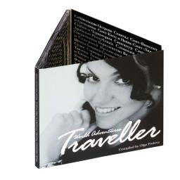 Диджипак CD 6 полос 1 трей. Traveller