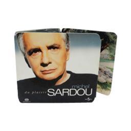 Диджипак miniCD/miniDVD 8 полос 1 трей. Sardou