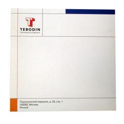 Картонный конверт с клапаном. Tebodin