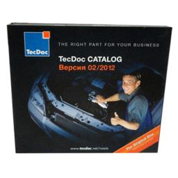 Диджипак CD 8 полос 4 трея. TecDoc CATALOG