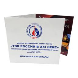 Диджипак CD 6 полос 1 трей. ТЭК РОССИИ В XXI ВЕКЕ