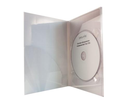 Диджипак DVD 4 полосы 1 трей с карманом для буклета. Group-IB
