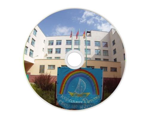 Печать на DVD-R дисках (Цифровая) 4,7 Гб